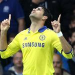 Diego Costas been nothing shy of brilliant for Chelsea. 4 goals in 3 games, 2 today in Blues 6-3 win vs Everton. http://t.co/ZVh1RFVA2H