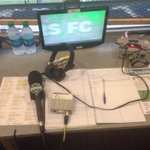 Wires, water and erm, white papers. The essentials of any #sounders TV broadcast. Rapids in town, 1230PT @Q13FOX http://t.co/hYFjeJGQXF