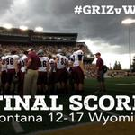 RT @UMGRIZZLIES_FB: FINAL Score from Laramie: Montana 12-17 Wyoming. Report to come. Check stats here: http://t.co/O3ExJJTcps #GoGriz http://t.co/JMZ9PZ0TkM