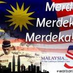 RT @hmetromy: #warisan57 Selamat menyambut Hari Kemerdekaan Ke-57 buat seluruh warga Malaysia di mana sahaja berada http://t.co/aoUwXVh2EU