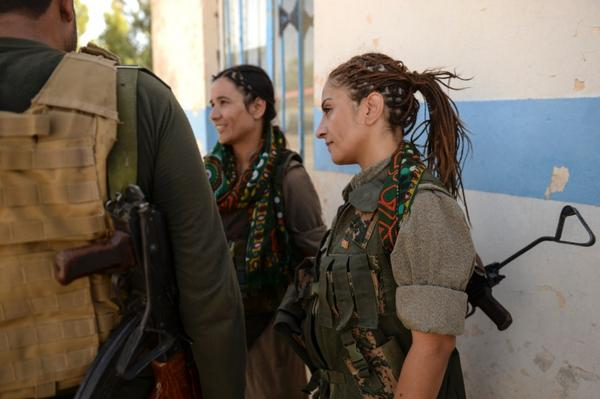 Female fighters of the PKK may be the Islamic State's worst nightmare: http://t.co/ASL82GR64n http://t.co/qEv0vHdgRi