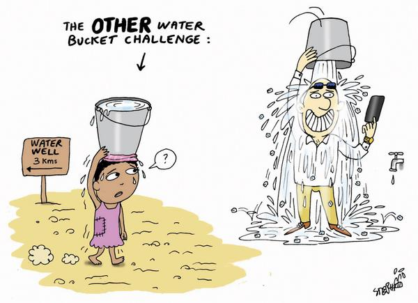 The OTHER water Bucket Challlenge http://t.co/eU7cDEWe8K