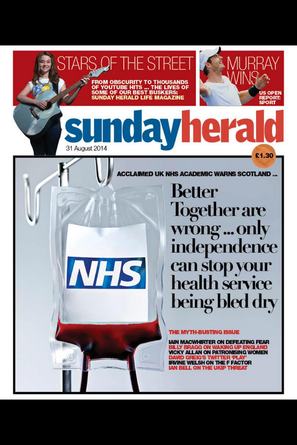 A very strong @newsundayherald front page   cc @andyburnhammp http://t.co/vHHTMUYDWt