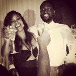 RT @JonB_954: Congrats ???? to Dwayne Wade & Gabrielle Union ???? ???? ???? http://t.co/5FJO0JY0MT