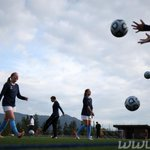 RT @d_millerphoto: PHOTO: @WWU_WSoccer warms up for a game against Calgary at #WWU. Game time in 5 mins. @WWUAthletics #soccer #goviks http://t.co/WXtKnZ7XzY
