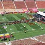 RT @insidetroy: #USCplayers enter the Coliseum from the #TrojanWalk http://t.co/MYPr6N9pve