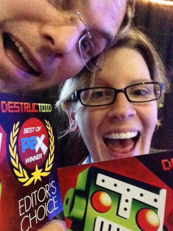 OMG guys, we are a @destructoid Editor's Choice for PAX! #ROCKETSROCKETSROCKETS http://t.co/MxkRiaIsLW