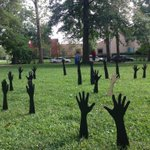 RT @brownestate: Wow. RT @Bipartisanism: Art pieces supporting #Ferguson popping up in parks across the world. #BlackLivesMatter http://t.co/ppuRo8lsma