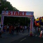 #CirebonJepret : [TODAY] Gowes Sehat w/ @alfamartku Start : Balaikota Finish : Stadion Bima. http://t.co/xu93E1eJm9