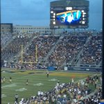 #FIU student section around half full. Good amount of others catching the game from the tailgates. http://t.co/hmDO18u6Bp