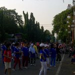 #CirebonJepret : Senam Sehat di Area Car Free Day Jl. Siliwangi. http://t.co/3R8sHCXjVu