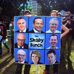 RT @KieraGorden: Contender #3 for best sign at #MarchInAugust #AusPol via @HamiFaraj http://t.co/yAYmT24gJV