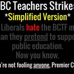 """RT @PeterKelly74: The truth about the #bced teachers """"strike"""". #bcpoli http://t.co/GQOrk11nR0"""