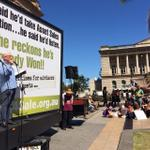The brilliant Terry OGorman cataloguing the litany of assaults on civil liberties by @theqldpremier #MarchAustralia http://t.co/fduyYIyxcw