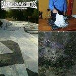 RT @barrabravphotos: Hoy La Plaza [Cerro Porteño] quemó el telón de 130 metros robado de la Barra del Olimpia ayer . http://t.co/qkEATFJxKU