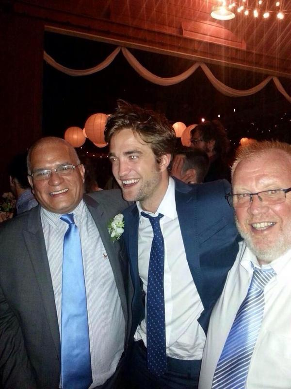 New Pic of Rob at Bobby's wedding.. he looks so good and happy! http://t.co/MZ4ZMWFIiJ