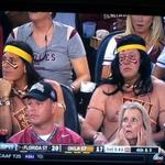 When the tailgating buzz wears off and you realize you wore tribal costumes to a football game.. http://t.co/ehPpppluuh