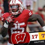 RT @UWBadgers: RT if you enjoyed that half of @BadgerFootball #TexasKickoff #badgers http://t.co/Z3uAf1l37L