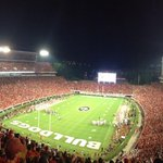 What a night! #UGA starts the season out 1-0 on national TV. Have a great night #DawgNation and be safe. #GoDawgs http://t.co/5QT1yla1ht