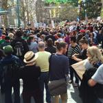 RT @itsmarkbishop: Melbourne #MarchInAugust #auspol #budget2014 #MarchAustralia #bustthebudget #asylumseekers #society #humanrights http://t.co/rQLkFo6nJR