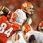 #UGAs Leonard Floyd had 7 tackles, 2 sacks and 2 tackles for loss. Spent a lot of time in the Clemson backfield. http://t.co/R9uUGsP1eL