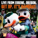 RT @CollegeGameDay: BREAKING: College GameDay is heading to Eugene next Saturday for Michigan State vs Oregon! #GetUp4GameDay http://t.co/Sg4ox3o9Wj