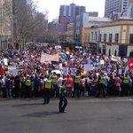 #marchinaugusters arrive @ #springst #melb #nofibs #auspol http://t.co/zzKK7ysuW3