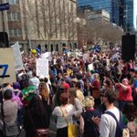 #MarchInAugust a packed Parliament in Melbourne! http://t.co/NnBhMQMeUO