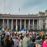 A big turn out at Vic Parliament for #MarchInAugust #auspol http://t.co/sRMcVX9lfR