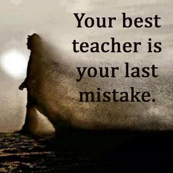 Your best teacher is... http://t.co/y5nKrD3cM5