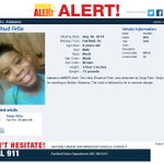 RT @abc3340: RT! #AmberAlert issued for 9-year-old Fairfield boy who was abducted Saturday around 6:30pm: http://t.co/b5TM4DMTNP http://t.co/mgLiVQ0Got