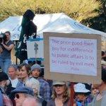 RT @zippydazipster: #nofibs #Sydney #marchinaugust http://t.co/c2oRwYJBuj