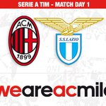 Its matchday! Ready for the first match of @SerieA_TIM? See you at the San Siro! #MilanLazio http://t.co/YyHq3vwGsw