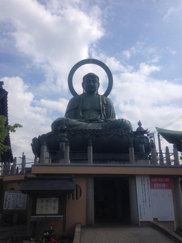 越中一宮、高岡市の射水神社と高岡大仏!これにて日本三大大仏を制覇! http://t.co/4QzAwz9Gv5