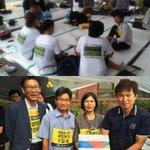 [16:44]청운동농성장에서 가족들에게 서울시당이 받은 15,558명 서명 전달했습니다.그리고 가족들이 안산에서 총회를 하게 되어 청운동 농성장을 지켜달라는 요청을 통합진보당이 받았습니다.영광입니다 http://t.co/qw8BdEOqFm
