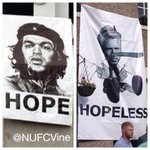 Ever wondered whos side the majority of fans are on? This photo pretty much sums it up. #NUFC #HBA #PARDEW http://t.co/SJo6mLYqmz