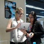 RT @FrontMicrobiol: Alice showing off our interactive review platform #FEBSEMBO2014 http://t.co/MnmAlAd7TK