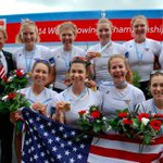 RT @usrowing: Seven medals for U.S. crews! #wrchamps #usaworlds http://t.co/lCcAa74fF0 http://t.co/AX8hBqp4E9