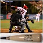 RT @artist_series: BE ACTIVELY! - TWT & RT #whiff @Angels @AngelsRBI 4 a chace 2 WIN Howie Kendricks @TrinityBatco bat - By @angelsrbi http://t.co/M6SB8Amlff