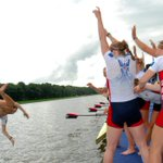 Gold medal cox toss starring Katelin Snyder and the world champion womens eight. Go USA! #wrchamps #usaworlds http://t.co/hzFlrClSsL