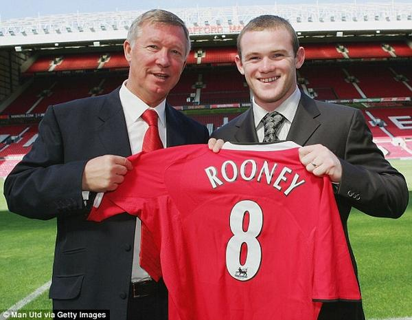 Wayne Rooney 18 Years Old YEARS AGO TODAY Manchester United signed year old Wayne Rooney