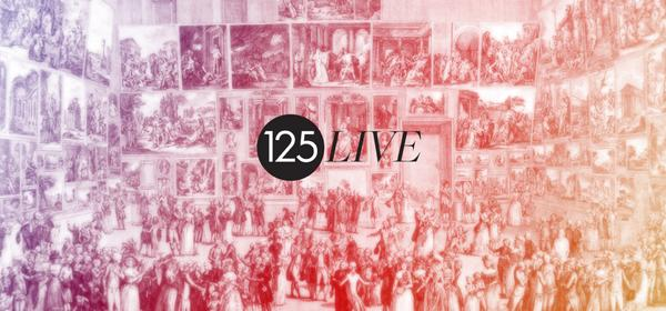 12 days to #125LIVE! Entry is free but seats for lectures & workshops are limited so book now: http://t.co/gr4Wfdcwqo http://t.co/a3sJwmPC4w