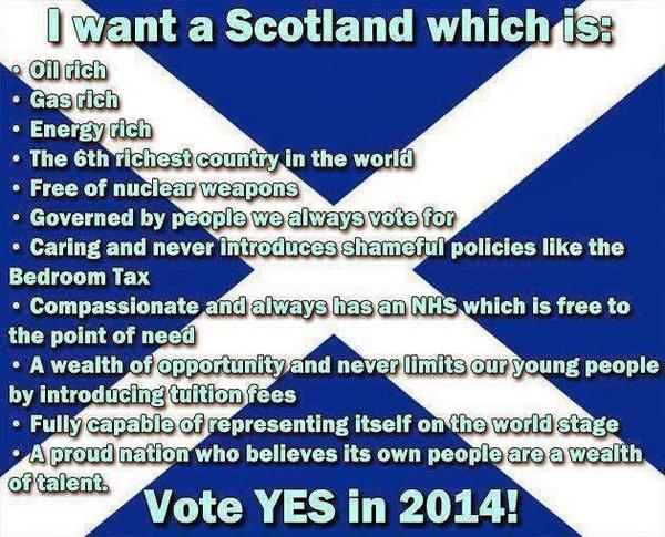 My Scottish family say YES to Independent Scotland. #YesScotland http://t.co/hFWhQPK1JZ