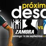 RT @ZamoraFutbolC: ¡Próximo desafío! #ZamoraFC vs Mineros | Domingo 14/09 (6pm) Agustín Tovar, Barinas | Jornada 5 #Apertura2014 #FutVe http://t.co/TOhQGrDbu4