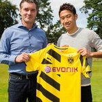 RT @DeadlineDayLive: DEAL DONE: Borussia Dortmund have confirmed the signing of Shinji Kagawa. (Source: @BVB) http://t.co/e4guF8iKrv