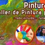 """Hoy Expo-Feria """"Merkadito del Kactus"""" en Palermo 250 #Chillán: Taller de Pintura para Niñxs http://t.co/nUP0r0mspG"""