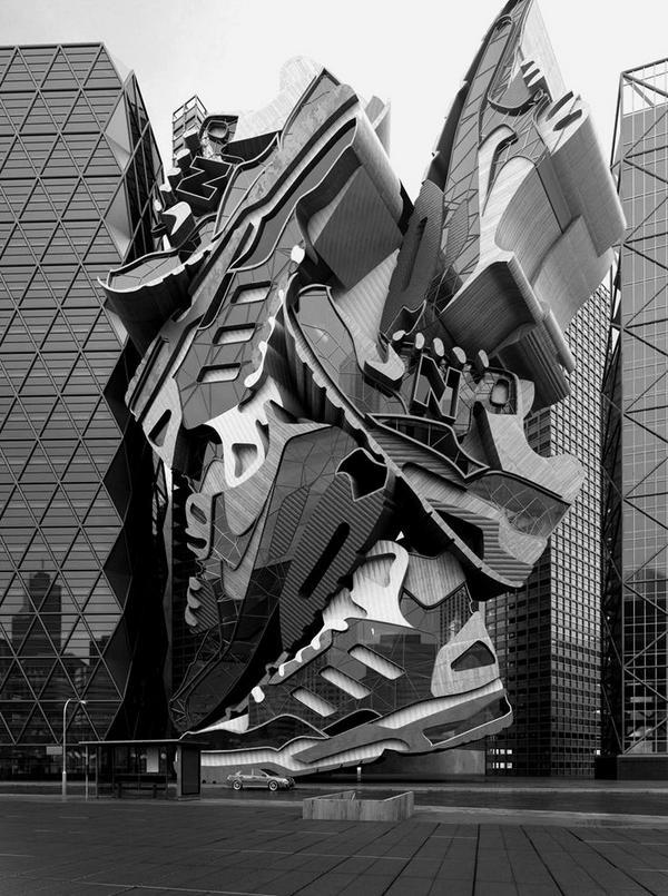 "RT @ArchitecturesX: ""Retail store Black & white Nike store unique architecture - "" http://t.co/HYerONNx7n"