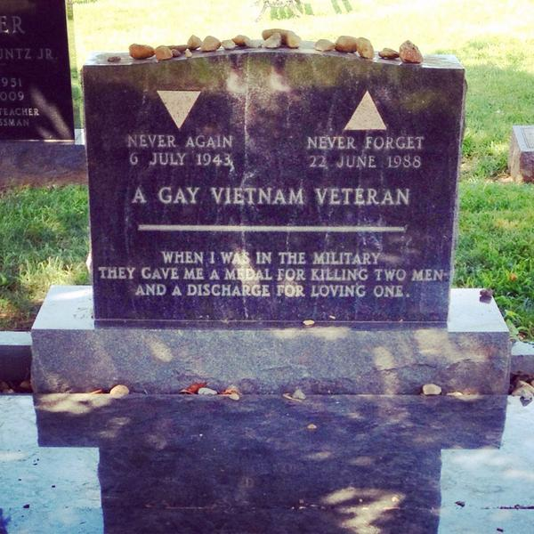 Taking the fight for LGBT rights to the grave. #dc http://t.co/ixHTLdoJhT