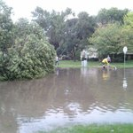Flooding and trees down in Sergeant Bluff. @scj #suxweather http://t.co/asM68LC3Nw