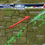 Scattered showers and isolated storms are still possible this evening, Most currently moving NE at 25 mph. #WTVAnews http://t.co/qZlUf3FCAw